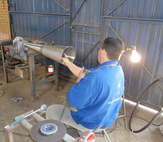 Fabricação de ejetores industriais