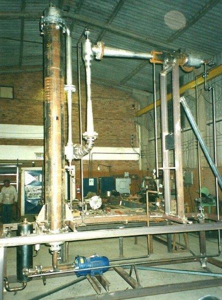 Sistema de vácuo industrial